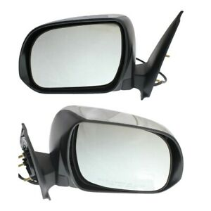 Mirror Set For 2012 2015 Toyota Tacoma Left And Right With Signal Light Chrome