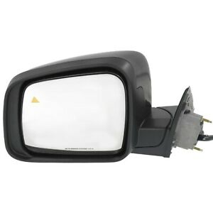 Power Mirror For 2011 2017 Jeep Grand Cherokee Left Manual Fold Heated Paintable