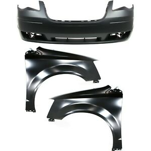 Bumper Cover Fender For 2008 2010 Chrysler Town And Country Kit Front Capa
