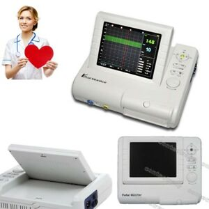 Color Lcd 24 Hours Fetal Monitor Ultrasound Fhr Toco Fetal Movement record Paper