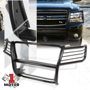 Mild Steel Grille Brush Headlight Guard For 07 13 Chevy Avalanche Suburban Tahoe