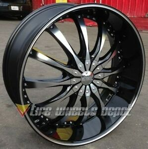 28 Inch Dcenti 8 Bmf Wheels And Tires 5x127 Buick Impala Caprice 5 Lug C1500 C10