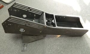 98 11 Crown Victoria Police Center Console W Mounting Bracket 2