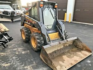 New Holland Ls160 Skid Steer Loader Heated Cab One Owner 1 150 Hours
