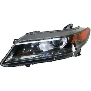 Headlight For 2013 2014 2015 Honda Accord Coupe Left With Bulb Capa