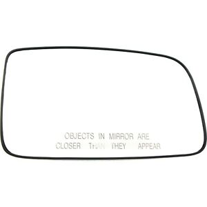 New Mirror Glass Passenger Right Side Heated Rh Hand Mitsubishi Lancer Mn126551