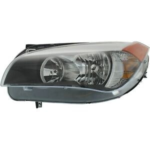 Headlight For 2012 Bmw X1 Xdrive28i Model Left Clear Lens With Bulb