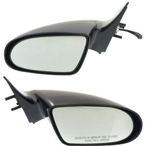 Manual Remote Mirror Set Of 2 For 1989 1994 Geo Metro Left And Right Paintable