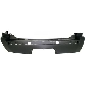 Rear Bumper Cover For 2005 2010 Jeep Grand Cherokee W Molding Tow Hook Holes