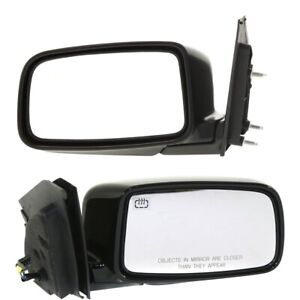 New Set Of 2 Mirrors Driver Passenger Side Heated Mi1321113 Mi1320113 Pair