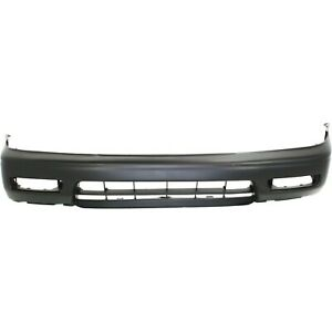 Front Bumper Cover For 94 95 Honda Accord W Fog Lamp Holes Primed