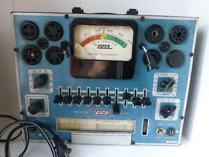 Eico Model 625 Tube Tester Vintage Us Made And Pulled From Working Environment