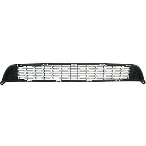 Bumper Grille For 2014 2015 Kia Sorento Center Textured Black Plastic