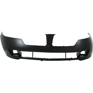 Front Bumper Cover For 2010 2012 Lincoln Mkz Primed