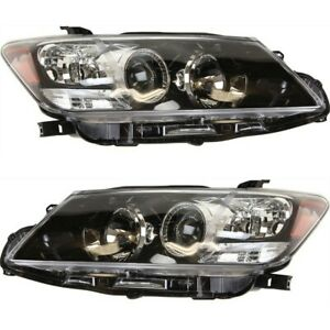 Headlight Set For 2011 2012 2013 Scion Tc Left And Right Capa 2pc