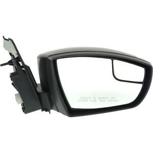 Power Mirror For 2013 2016 Ford Escape Right Side Manual Fold Paintable