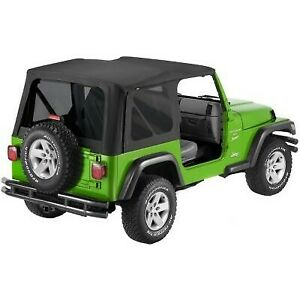 Bestop 51193 35 Soft Top For 2003 2006 Jeep Wrangler Tj