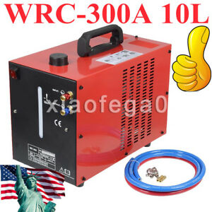 Wrc 300a 10l Powercool Tig Welder Torch Water Cooler Cooling System 110v Red Usa