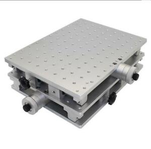 2 Axis Moving Table Portable Xy Table For Laser Marking Engraving Machine