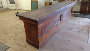 Antique Country Mercantile Original Store Counter Primitive Island