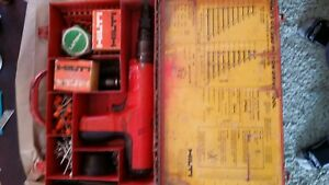 Hilti Dx 350 Powder Actuated Fastening Systems Nail Gun Kit With Case