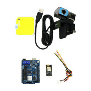Wifi Hd Camera Video Controller Kit For Arduino Tracked Robot Car