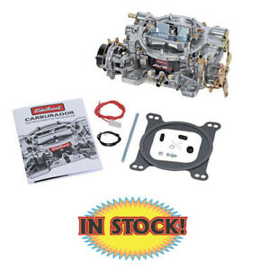 Edelbrock 1901 500 Cfm Avs2 Carburetor Electric Choke