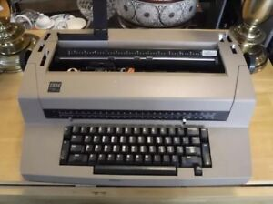 Ibm Correcting Selectric Iii Electric Typewriter Tan