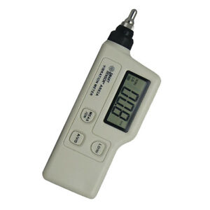 As63a Digital Handheld Vibrometer Tester Vibration Analyzer No Battery