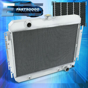 High Performance Aluminum Radiator For 63 68 Chevy Impala bel Air el Camino M t