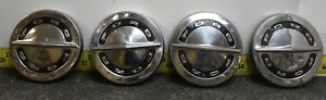 Ford Oem Set Of 4 Dog Dish Center Hub Caps 1964 1966 Svm37 D