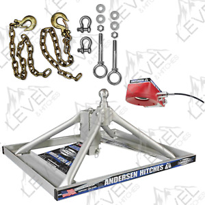 Anderson Hitches 5th Wheel Ultimate Connection Added Safety Chains Free 3220