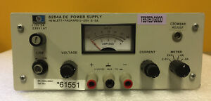 Hp Agilent 6284a opt 11 0 To 20 V 0 To 3 A Dc Power Supply Tested