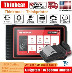 Thinktool Obd2 Diagnostic Tool All Systems Bi directional Ecu Coding Auto Scan