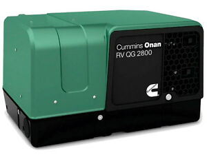 New Cummins Onan 2 8hgjbb 1120a Rv Commercial Generator Quiet Gasoline Qg 2800