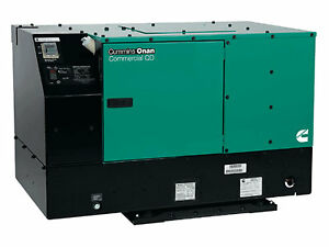 New Cummins 7500 Watt Commercial Qd Diesel Generator 7 5hdkat 41934 120 Volts