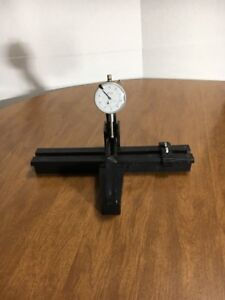 Teclock A1 921 001 1 0 Machinist Dial Indicator On Stand Gun Measuring