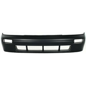 Front Bumper Cover For 93 97 Nissan Altima W Fog Lamp Holes Primed