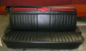67 72 C10 Chevy Truck Custom Double Bar Grill Upholstery Bench Seat Covers