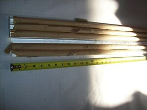 Lot Of 6 3 4 Dia 75 3 Are 72 Or 6ft Clear Acrylic Plexiglass Rod
