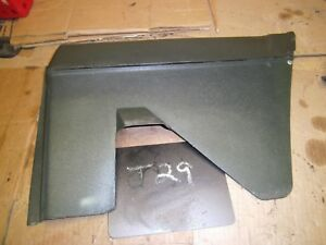 1971 1972 1973 Riviera Rh Rear Seat Arm Rest Side Panel Molding Trim 1 4 Green