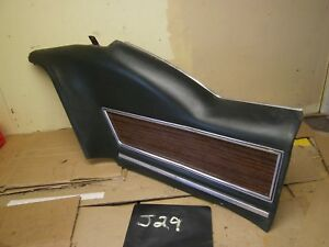 1971 1972 1973 Riviera Left Rear Interior Panel Green Wood Grain Oem 71 72 73