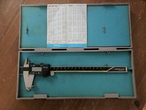 Mitutoyo 500 197 Cd 8 Cs Digital Caliper With Case