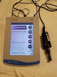 Fisher Scientific Accumet Ar40 Ph ion conducticity Meter With Bod Probe