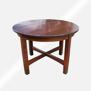 Antique L Jg Stickley Small Dining Table W5502