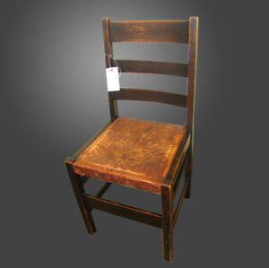 Antique Great Looking L Jg Stickley Side Chair W2469