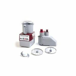 Robot Coupe R2n 3 Qt Continuous Feed Food Processor 1725 Rpm