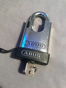 Abus 83cs 55 Padlock 888 Restricted Cylinder All Weather Cover Keyed Different