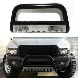Black Stainless Steel For Toyota Tundra sequoia Front Push Bumper Bull Bar Guard