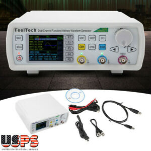 Digital Fy6600 60mhz Dual channel Dds Function Waveform Signal Generator Kit
